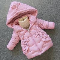 女童棉衣2018新款冬装衣服洋气儿童装棉袄宝宝5加厚外套3-7岁