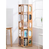 旋转书架360度学生现代简易书架创意书柜置物架书架落地o6f