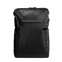 双肩包男时尚潮流背包男士商务旅行包电脑包休闲包学生书包女运动 黑色 黑色