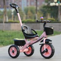 W 儿童三轮车脚踏车1-3-5岁宝宝婴儿手推车轻便小童车自行车