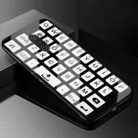 小米PocophoneF1手机壳玻璃小米F1保护套个性创意POCO F1软硅胶防摔全包边女款潮男 小米Pocophon
