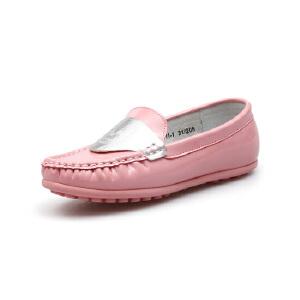 比比我新品新款儿童鞋2017春秋新款女童豆豆鞋女时尚休闲鞋
