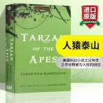 华研原版 人猿泰山 英文原版 Tarzan of the Apes 科幻小说 英文版 正版现货进口英语书籍