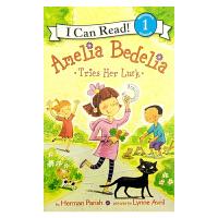 英文原版 Amelia Bedelia Tries Her Luck[4-8岁]