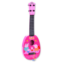 ?玩具卡通仿真吉他它尤克里里乌克丽丽 儿童乐器中号43cm?