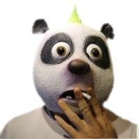动物面具头套 马头狐狸猩猩猴子猪八戒搞笑直播演出舞会恐怖面具