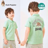 【2件5折:116元】暇步士童装男童短袖Polo衫2021夏季新款儿童简约翻领T恤