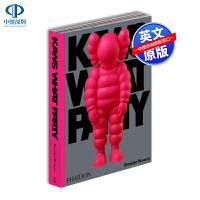 预售英文原版 KAWS: WHAT PARTY Pink Edition 考斯品牌设计 潮牌艺术设定集 涂鸦艺术画册书