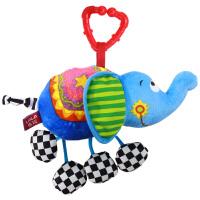 LALABABY/拉拉布书 逗趣大象挂 新生儿床挂 婴儿床床铃0-1岁宝宝床头玩具推车挂件