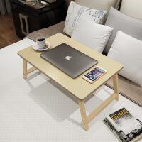 幽咸家居 松木 实木床上折叠电脑桌 懒人桌电脑桌 床上学习桌折叠实木电脑桌 床上餐桌 炕桌