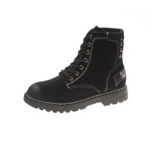 WARORWAR新品YM155-A887-3秋冬休闲平底舒适女士靴子短靴马丁靴