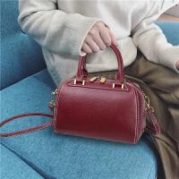 女包包2018新款潮时尚波士顿包单肩斜挎包女手提包百搭大气枕头包SN0945