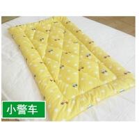 婴儿幼儿园宝宝小床垫垫被棉絮夏季薄儿童床褥水洗薄款单人床褥子 小警车A A