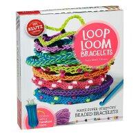 Loop Loom Bracelets 儿童手工书:编织手链 英文原版 亲子互动书籍