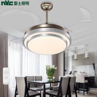 雷士照明简约现代餐厅吊灯风扇灯吊扇灯隐形电扇卧室饭厅客厅家用灯具