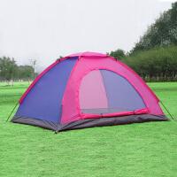 自动帐篷家庭野营全自动帐篷套装户外2人野外3-4人露营