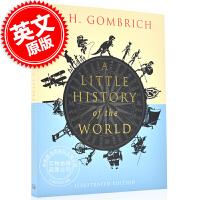 现货 图解版世界小历史 英文原版 A Little History of the World: Illustrated