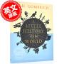 现货 图解版世界小历史 英文原版 A Little History of the World: Illustrated Edition 图解历史 青少年世界历史入门