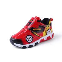 秋季男童鞋运动鞋防水轻便旅游鞋秋天男孩跑步鞋中大童儿童休闲鞋