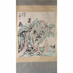 范杨 《静听流泉》中国美术家协会会员