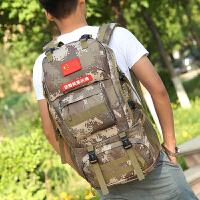 背包男大容量户外登山包旅行包潮流女包旅游包休闲运动徒步双肩包