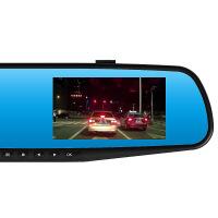 后视镜双镜头高清行车记录仪选配带导航电子狗声控触摸屏