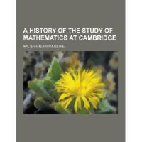 【预订】A History of the Study of Mathematics at Cambridge Y978