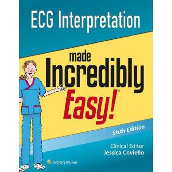 【预订】ECG Interpretation Made Incredibly Easy (Incredibly Easy! S... 9781496306906 美国库房发货,通常付款后3-5周到货!