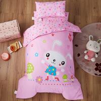 婴幼儿童幼儿园男童女童女孩小床纯棉被子被套床上用品六6三件套 其它