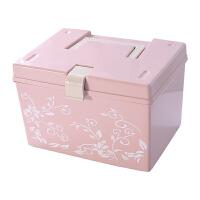 收纳箱小号衣柜塑料储物箱迷你家用小收纳盒手提式有盖小型整理箱