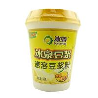 冰泉 速溶豆浆粉 40g×10 杯装 豆浆经典原味纯豆浆粉 营养早餐 豆粉代餐