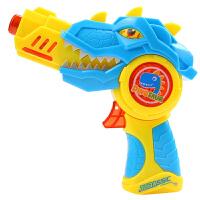 小孩投影电动枪耐摔声光男孩小枪儿童玩具抢宝宝变形玩具枪 送2节7号电池