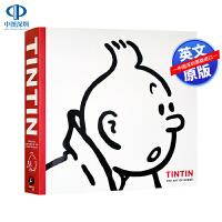 现货英文原版 丁丁历险记:埃尔热的艺术(90周年纪念) Tintin: The Art of Hergé 赫格手稿与灵感