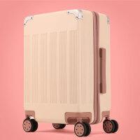 行李箱女拉杆箱韩版小清新皮箱旅行箱大学生密码箱个性复古潮