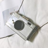2018个性潮照相机包包秋季新款女包欧美时尚小包链条单肩包斜挎包SN0270