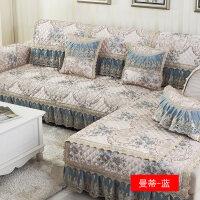 欧式客厅沙发垫布艺四季通用简约现代�f能沙发套全包靠背巾罩全盖