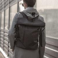 户外包27升可拓展折叠背包 英伦时尚防水男背包 简约个性旅行包男双肩包