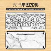 罗技k380键盘膜Logitech贴纸无线蓝牙键盘贴配件创意装饰按键贴