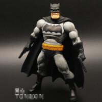 蝙蝠侠胖子 阿甘骑士可动人偶正义联盟 手办公仔模型玩具 DC