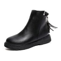 WARORWAR新品YM137-A1秋冬韩版平底舒适女士短靴