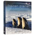 冰冻星球 超乎想象的奇妙世界 英文原版 Frozen Planet 全彩精装 BBC 制作 自然纪录片 英文版画册书