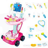 儿童医生玩具套装打针听诊器护士过家家医院小推车女孩宝宝