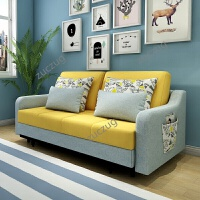 zuczug沙发床可折叠多功能客厅双人折叠床小户型两用懒人折叠沙发床单人 1.5米以下