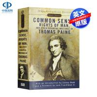 英文原版 常识 人的权利 托马斯潘恩作品选集 Common Sense Rights of Man 美国独立宣言 经典文