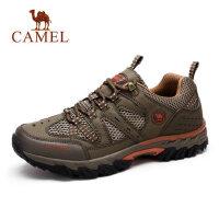 camel 骆驼男鞋运动休闲男鞋网布户外鞋越野跑鞋防滑透气男士网鞋