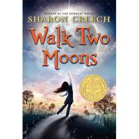 【现货】英文原版 印第安人的麂皮靴 Walk Two Moons (1995年纽伯瑞金奖) 平装版 8-12岁 假期阅