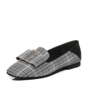 Belle/百丽2018春季新品纺织品/羊皮革女单鞋60715AM8
