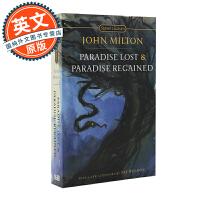 失乐园和复乐园 英文原版 Paradise Lost and Paradise Regained 世界文学名著 Sig