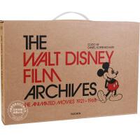 [现货]沃尔特迪士尼电影史料 精装全彩 大开本套装 The Walt Disney Film Archives: Th