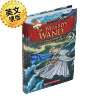 老鼠记者 英文原版 The Wizard's Wand 男巫的魔杖 Geronimo Stilton 进口童书 全彩故